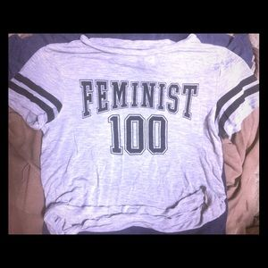 FEMINIST 100 GRAPHIC TEE